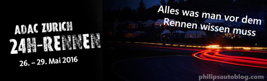 24h Rennen 2016 – Fakten zurVorbereitung
