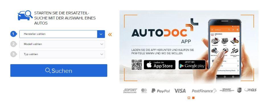 AUTO-DOC.ch | Anzeige