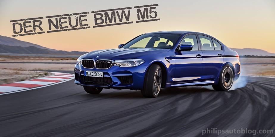 Das erste M-Modell mit Allrad – der neue BMWM5