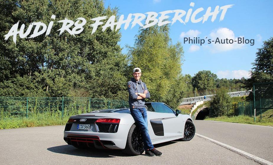 Fahrbericht Audi R8Spyder