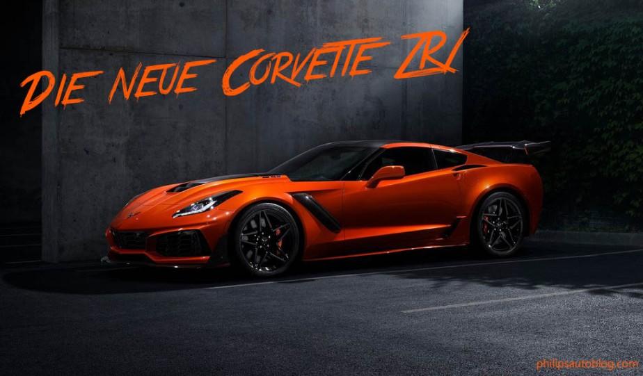 Die neue Corvette ZR1 – ein echtesBiest