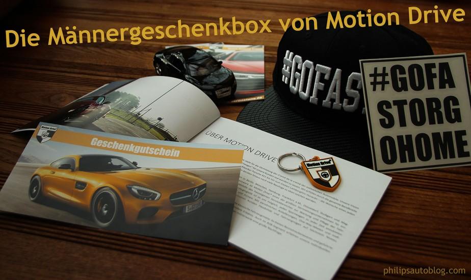 Geschenk für Männer: Die Motion Drive Gutscheinbox |Anzeige