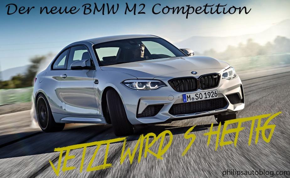 Der neue M2 Competition – jetzt wird´sheftig