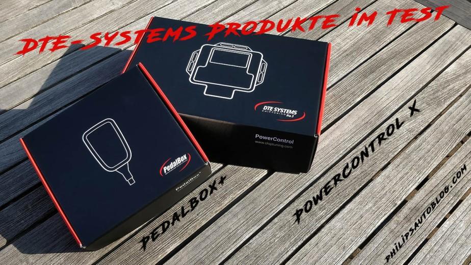 Power Control X und Pedalbox von DTE Systems imTest