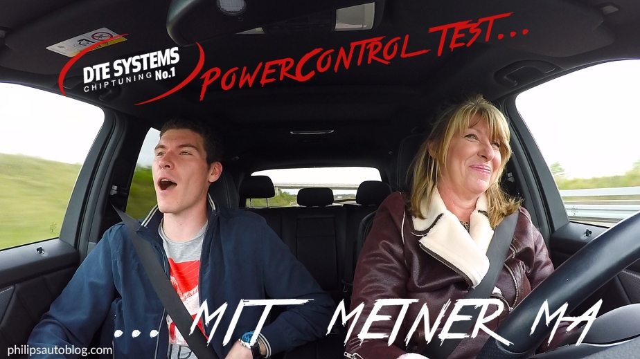 DTE Power Control im Mercedes-Benz GLK 220CDI