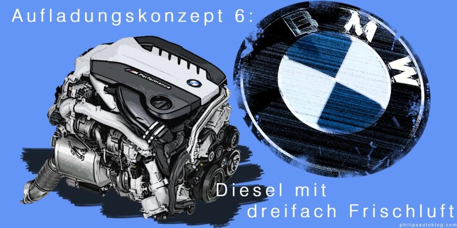 Aufladungskonzept 6: Diesel mit dreifachFrischluft