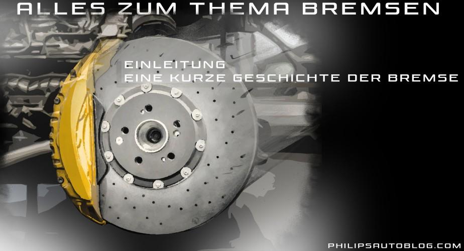 Alles zum Thema Bremsen – Einleitung: eine kurze Geschichte derBremse